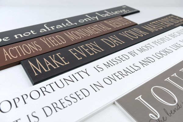 Wooden Signs With Sayings