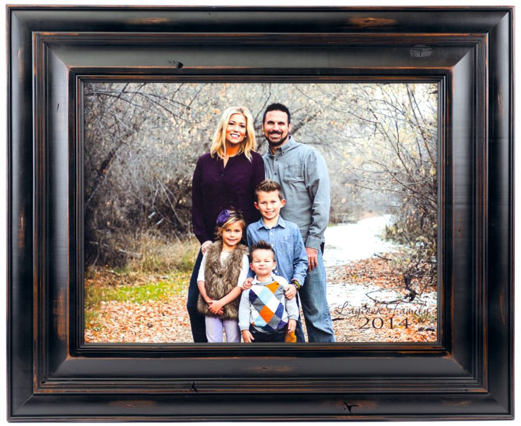 Personalized Wood Photo