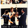 """personalized wood picture of utah state championship team with text saying, """"300 shots X 1095 days = 1 utah state championship"""""""