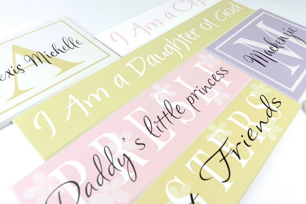 Romantic Wood Signs | Customized | American Woodcrafts